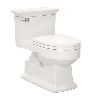 Toto Lloyd Eco 1.28 GPF Elongated One-Piece Toilet; Cotton