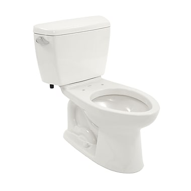 Toto Drake Eco 1.28 GPF Elongated Two-Piece Toilet; Left-Hand