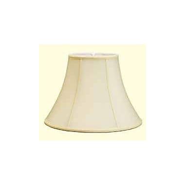Deran Lamp Shades 16'' Shantung Soft Bell Candelabra Shade; Egg