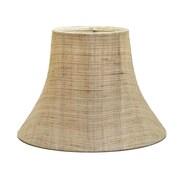 Deran Lamp Shades 14'' Shantung Soft Bell Lamp Shade; Linen