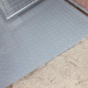 K9 Kennel Section Yard Kennel Tile Flooring