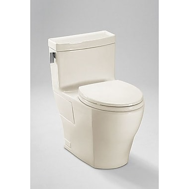 Toto Legato High Efficiency 1.28 GPF Elongated One-Piece Toilet; Sedona Beige