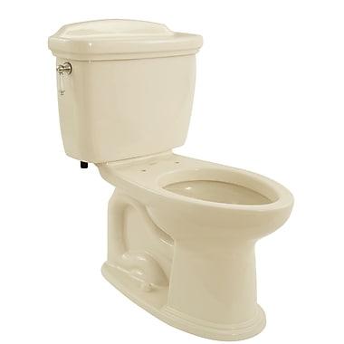 Toto Dartmouth 1.6 GPF Elongated Two-Piece Toilet; Bone