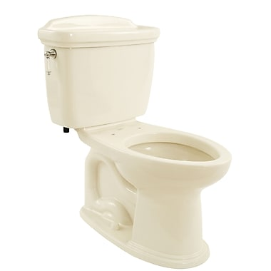 Toto Dartmouth 1.6 GPF Elongated Two-Piece Toilet; Sedona Beige