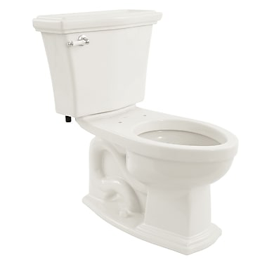 Toto Clayton Eco 1.28 GPF Elongated Two-Piece Toilet; Cotton