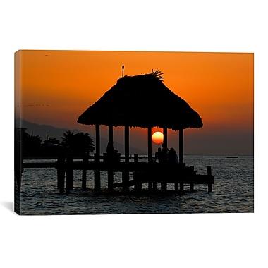 iCanvas Island Sun by Dan Ballard Photographic Print on Canvas; 40'' H x 60'' W x 1.5'' D