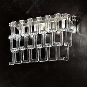 Evi Style Tessuti Mini 4-Light Flush Mount; Amber