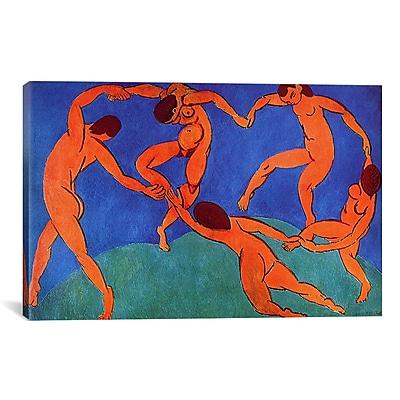iCanvas 'Dance (II)' 1910 by Henri Matisse Graphic Art on Canvas; 40'' H x 60'' W x 1.5'' D