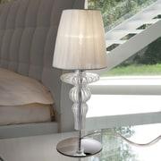 Evi Style Gadora 19.7'' Table Lamp; Ivory