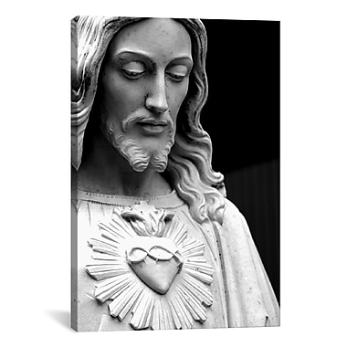 iCanvas Christian Jesus Photographic Print on Canvas; 18'' H x 12'' W x 0.75'' D