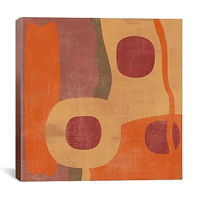 iCanvas 'Abstract I' by Erin Clark Graphic Art on Canvas; 12'' H x 12'' W x 1.5'' D