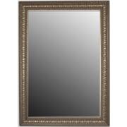 Second Look Mirrors Second Look Ocean Waves Moonlight Silver Framed Wall Mirror