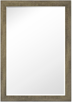 Second Look Mirrors Country Barnwood Wall Mirror; 33.75''H x 15.75''W x 0.75''D