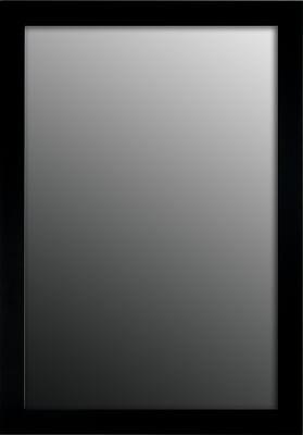 Second Look Mirrors Dark Mahogany Wall Mirror; 34.75''H x 24.75''W x 0.75''D