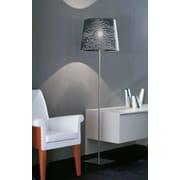 Morosini Dress 72.8'' Floor Lamp; Silver