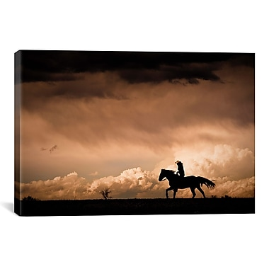 iCanvas Ride the Storm by Dan Ballard Photographic Print on Canvas; 18'' H x 26'' W x 1.5'' D
