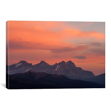 iCanvas Painted Morning by Dan Ballard Photographic Print on Canvas; 8'' H x 12'' W x 0.75'' D