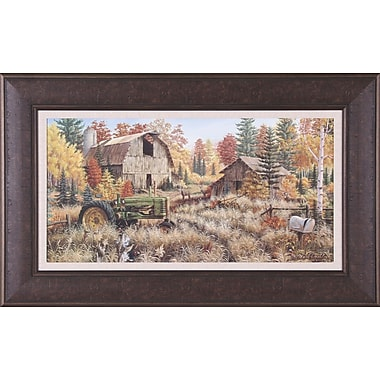 Art Effects Deer Valley by Mark Daehlin Framed Painting Print