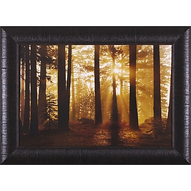 Art Effects Tahoe Smoky Sunrise by Mike Jones Framed Photographic Print