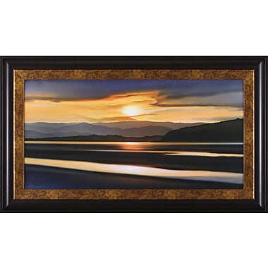 Art Effects Last Light of Day by Ken Messom Framed Painting Print