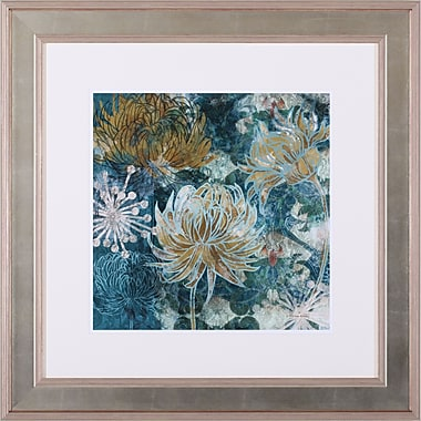 Art Effects Chrysanthemums II by Maria Woods Framed Painting Print