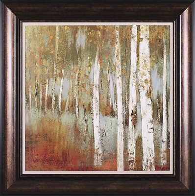 Art Effects Along The Path I by Allison Pearce Framed Painting Print