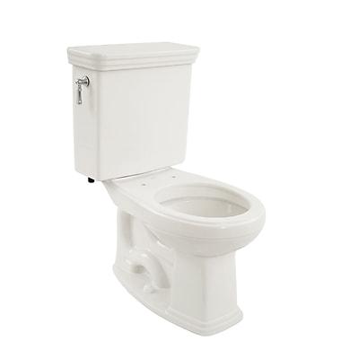 Toto Promenade Eco 1.28 GPF Round Two-Piece Toilet; Cotton