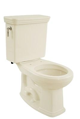 Toto Promenade Eco 1.28 GPF Round Two-Piece Toilet; Sedona Beige