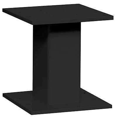 Salsbury Industries 1 Ft. H 4C Pedestal; Black