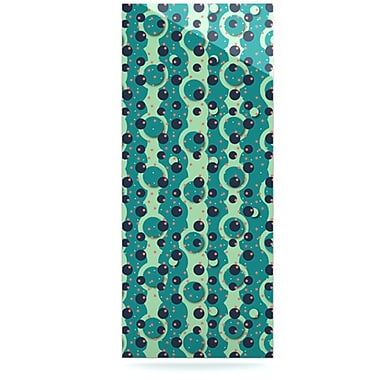 KESS InHouse Bubbles Made of Paper by Akwaflorell Graphic Art Plaque; 16'' H x 20'' W