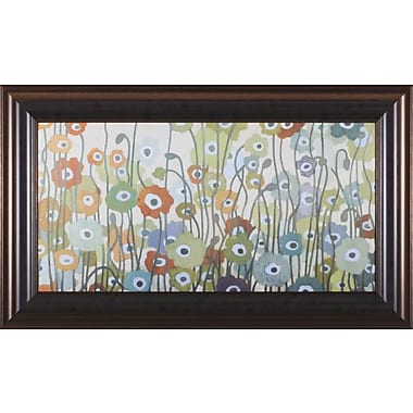 Art Effects Spectrum by Sally Bennett Baxley Framed Painting Print