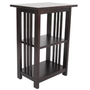 Alaterre Craftsman End Table; Espresso