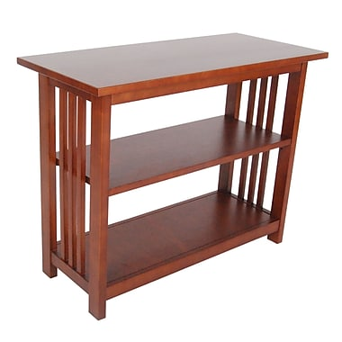 Alaterre Craftsman 24'' Etagere Bookcase; Cherry