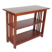 Alaterre Craftsman 24'' Etagere Bookcase; Cherry
