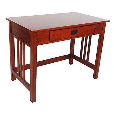 Alaterre Craftsman Writing Desk; Cherry