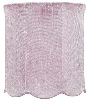 Jubilee Collection 7.25'' Drum Lamp Shade; Pink