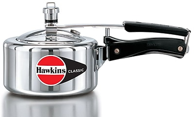 Hawkins Classic Aluminum Pressure Cooker; 1.59 Quart