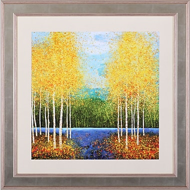 Art Effects Inlet Grove by Melissa Graves-Brown Framed Painting Print