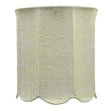 Jubilee Collection 7.25'' Drum Lamp Shade; Green
