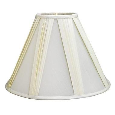 Deran Lamp Shades 16'' Shantung Soft Empire Lamp Shade; White