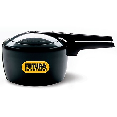 Futura Hard Anodized Pressure Cooker; 3.17 Quart