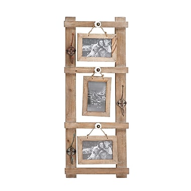 Cole & Grey Brilliant Styled Wood Wall Photo Hook