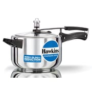 Hawkins Stainless Steel Pressure Cooker; 4.23 Quart