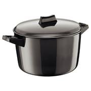 Futura Hard Anodised Cook and Serve Stewpot; 5.28 Quart