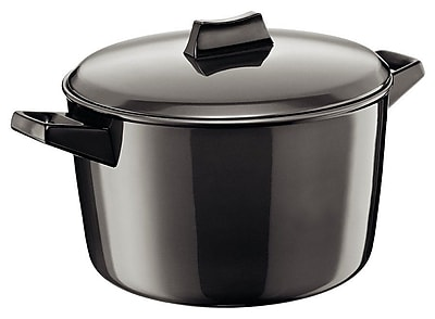 Futura Hard Anodised Cook and Serve Stewpot; 5.28 Quart