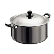 Futura Hard Anodised Cook and Serve Stewpot; 8.98 qt.