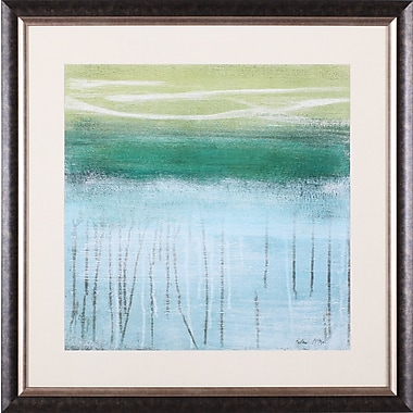 Art Effects Shoreline Memories I by Heather McAlpine Framed Painting Print