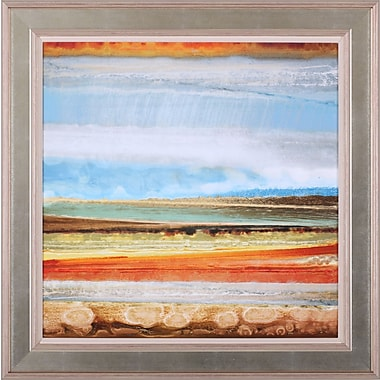 Art Effects Earth Layers II by Selina Rodriguez Framed Painting Print