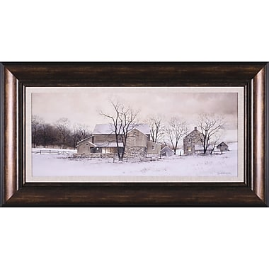 Art Effects Evening Chores by Ray Hendershot Framed Painting Print