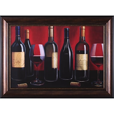 Art Effects 'Grand Reserve' by Marco Fabiano Framed Painting Print